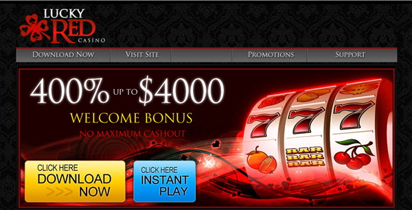 Lucky Red Casino No Deposit Coupon Codes