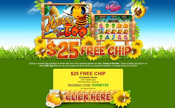 honey to the bee bonus slots of vegas no deposit